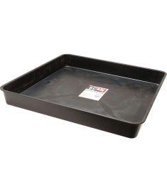 Garland Square tray black 60 x 60 cm, 7 cm deep