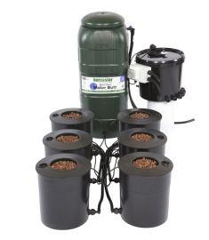 6 pot DWC Complete + 100L flexi tank