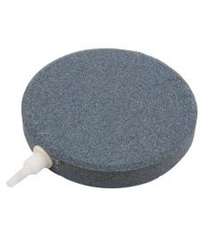 "5"" round grey air stone"