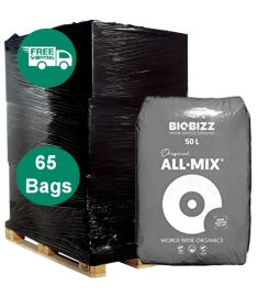 Full Pallet - Bio bizz All Mix 50L soil - 65 bags