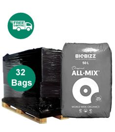 Half Pallet - Bio bizz All Mix 50L soil - 32 bags