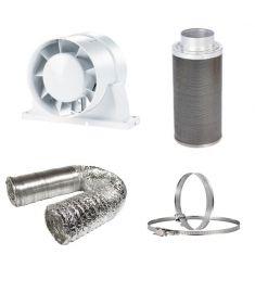 100mm Fan Filter Ducting budget kit