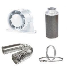 125mm Fan Filter Ducting budget kit