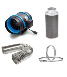 150mm Fan Filter Ducting budget kit