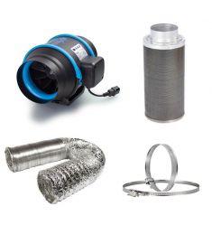 125mm Fan Filter Ducting budget kit