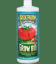 GROW BIG hydroponic quarts / 946ml 946ml - Fox Farm