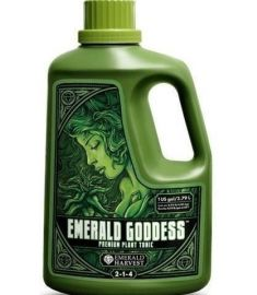 Emerald Goddess 1 US gallon = 3.79 L