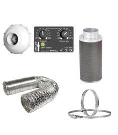 100mm Fan Filter Ducting kit - Prima Klima