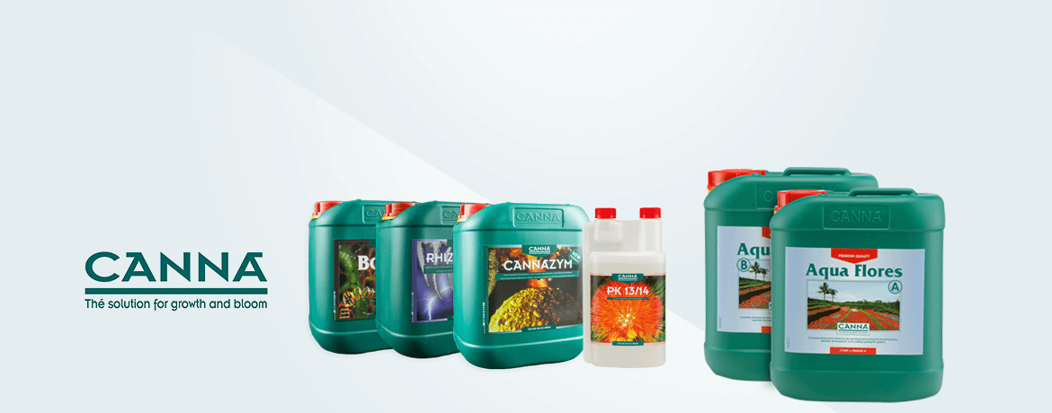 Full range of CANNA products